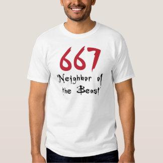 Vecino 667 de la bestia playeras