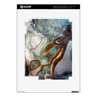 Vecino a través de la foto de cristal pegatina skin para iPad 3
