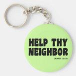 Vecinos de ayuda (12:31 de la marca): hurricanesup llavero