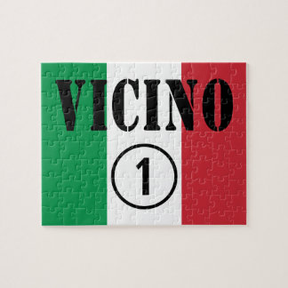 Vecinos italianos: Uno de Vicino Numero Rompecabeza
