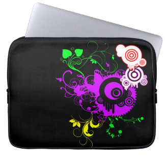 Vector and Swirls Laptop Sleeve