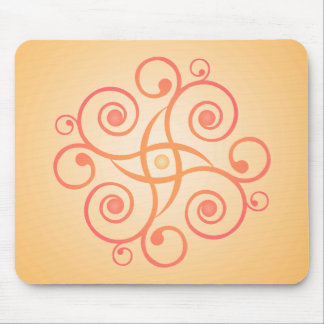 Vector Art: Gradient Spirals: Mousepad