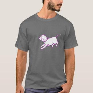 Vector Art Pit Bull Dog - Men's Dark T-shirt