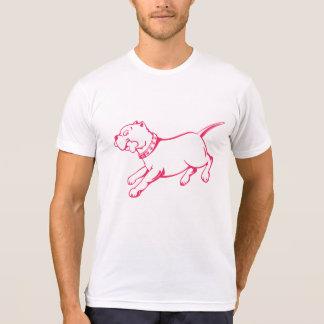 Vector Art Pit Bull Dog  -  Men's T-shirt