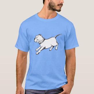 Vector Art Pit Bull Dog - T-shirt