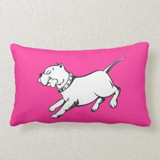 Vector Art Pit Bull Dog - Throw Pillow