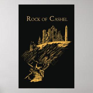 Vector Art Rock of Cashel Ireland Poster