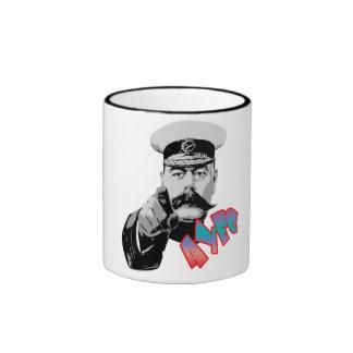 Vector At your earliest convenience (AYEC) Ringer Mug