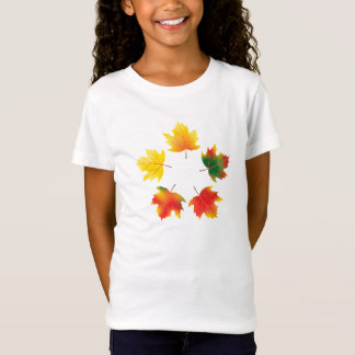 Vector autumn maple leaves T-Shirt