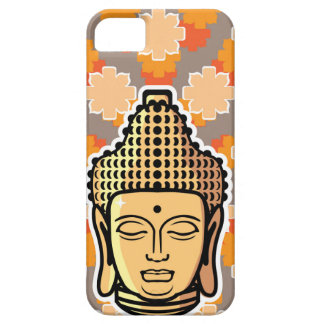 Vector Buddha head golden with background iPhone SE/5/5s Case