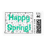 Vector Bugs & Flowers Stamps