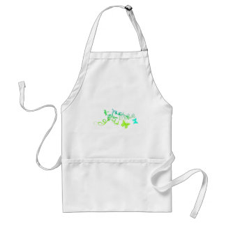 Vector Butterfly Design Adult Apron