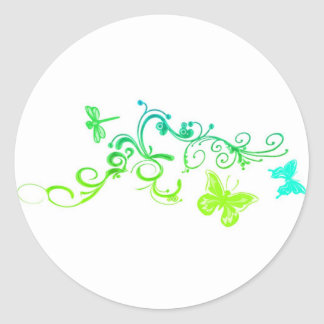 Vector Butterfly Design Stickers