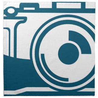 Vector Camera Icon Cloth Napkin