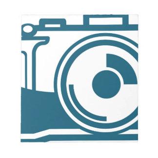Vector Camera Icon Notepad