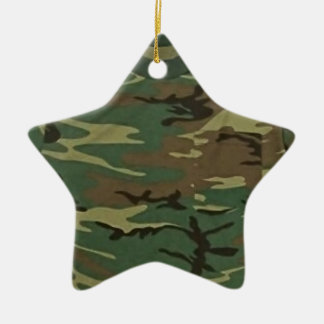 Vector Camo Tree Ornament