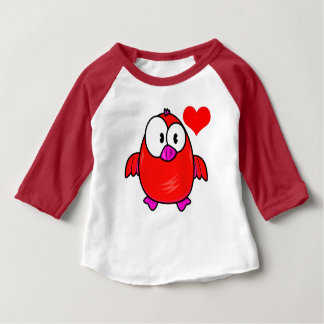 Vector  Cartoon Bird Baby T-Shirt