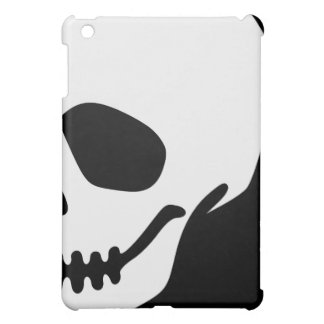 Vector Cartoon Skull Cover For The iPad Mini