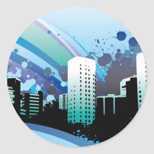 vector_city_wide-1920x1200 round stickers