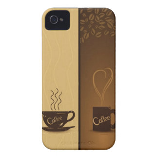 vector coffee banners iPhone 4 Case-Mate case