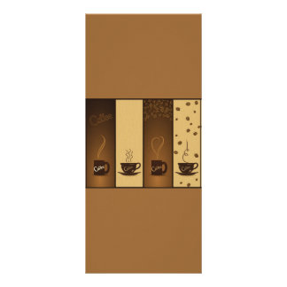 vector coffee banners customized rack card