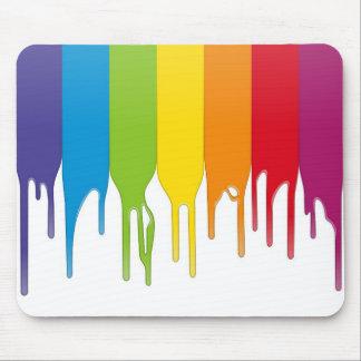 Vector Color Paint Mouse Pad