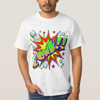 Vector Comic Book ZONK T-Shirt