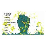 vector conmovedor de la naturaleza plantillas de tarjetas de visita