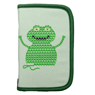 Vector Crochet Frog (Rip it, Frog it! -Green Back) Organizer