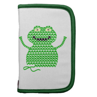 Vector Crochet Frog (Rip it, Frog it!) Planner