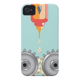 Vector de engrase de los engranajes carcasa para iPhone 4 de Case-Mate