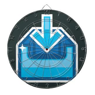 Vector de la caja de icono de la transferencia