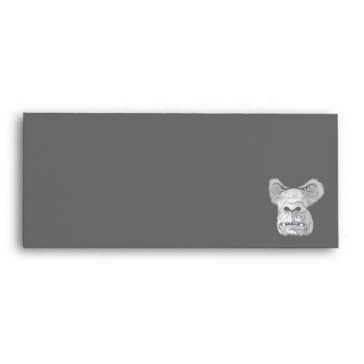 vector de la cara del gorila