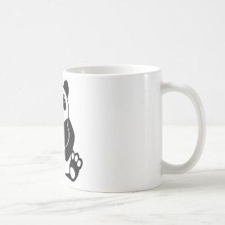 Vector de la panda taza clásica