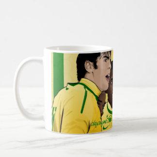 Vector de la taza del Brasil