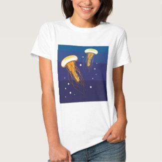Vector de las medusas polera