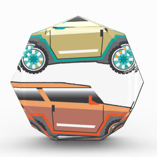 Vector de SUV nervioso