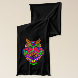 Vector - Decorative owl Scarf