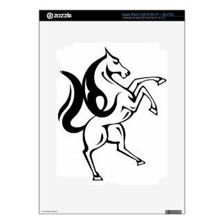 Vector del caballo salvaje iPad 3 skins