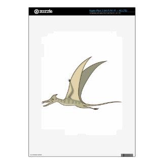 Vector del dinosaurio del vuelo iPad 3 skins
