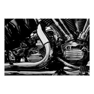 Vector del motor del motor posters