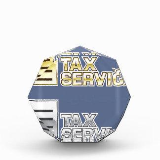 Vector del servicio del impuesto