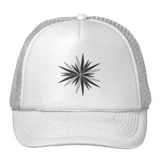 "Vector Design ""Star"" (Black / Grey / White) Trucker Hat"