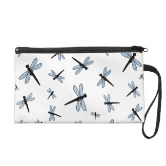 Vector Dragonfly Collage Wristlets