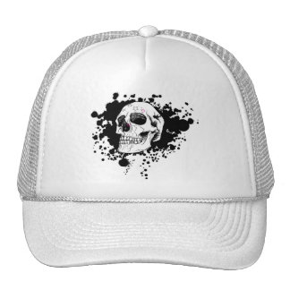 vector emo skull hats