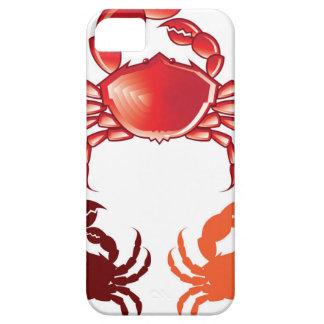 Vector enorme del cangrejo funda para iPhone SE/5/5s