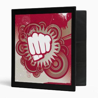 Vector Fist Punch - Original Red Binder