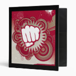 Vector Fist Punch - Original Red Binders