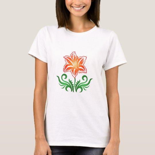 Vector Flower: T-Shirt