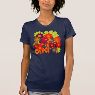 Vector Flowers Blooming T-Shirt
